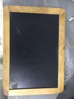 🚚 Black board for kids