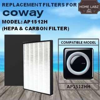 Compatible Filter For Coway AP1512HH