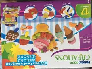 🚚 Ice cream dough set