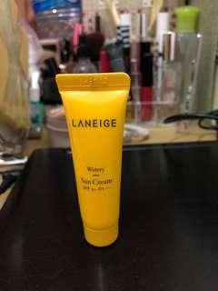 Laneige Sun Cream SPF 50+ Travel size