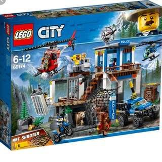 (現貨即日交收) LEGO 60174 Mountain Police Headquarters