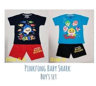 🚚 🦈 Pinkfong Baby Shark boys' set