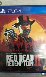 Red dead redemption 2 ps4 有code