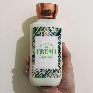 Bath & Body Works Fresh Brazil Citrus Lotion