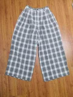 [Brand New] GU Checkered Pants