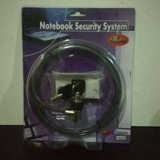 Notebook Security Key System for Laptops