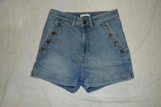 H&M Hotpants highwaist hnm