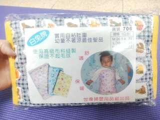 🚚 全新@嬰兒幼童蓋肚被被/防踢被肚圍不起球材質