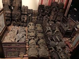 🚚 古董雕件、牌匾、佛像讓藏