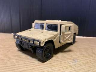 MILITARY HUMVEE ( diecast metal 1:40 scale )