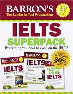 IELTS BOOKS & CDs 3-IN-1 PACK