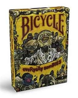 Bicycle 啤牌 - Zombified 🧟♀️ playing cards