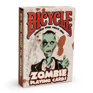 Bicycle 啤牌 - Zombie 🧟♀️ playing cards