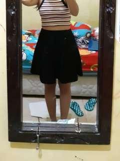 Rok hitam skirt black