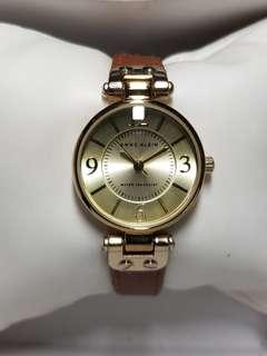 Anne Klein watch for ladies with leather strap - like brand new!