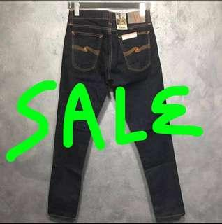 🚚 CLEARANCE SALE! $30 Discount on ALL Nudie Jeans!
