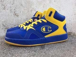 Champion冠軍復古高筒籃球鞋