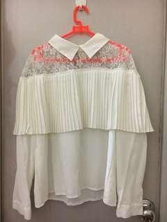 White Blouse Lengan Panjang