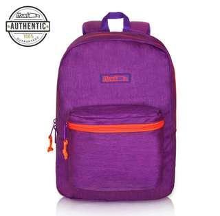 Hawk Authentic Backpack (Purple/Dark Blue-Textured)