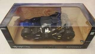 全新完美 高級全金屬版 蝙蝠車 batmobile tumbler hotwheels 非常罕有