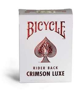 Bicycle 啤牌 - Crimson Luxe 🛑 playing cards