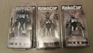 全新完美 Robocop 鐵甲威龍 一套三隻 非常罕有 NECA