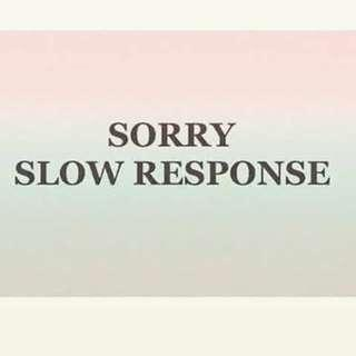 Sorry ya Slow Respond sampai tanggal 15 maret