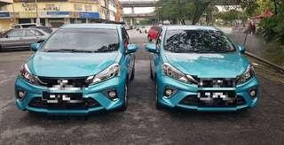 New myvi for rent , chepest in town