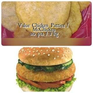 Value Chiken Patties / Mc Chiken