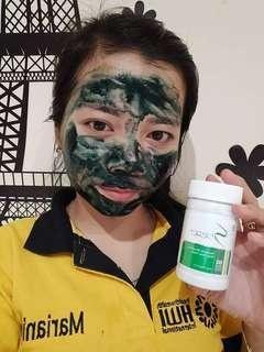 Masker Spirulina spiruthin