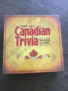 NEW Canadian Trivia Board Game Great for Adults and Kids