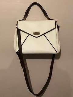 Kate Spade white messenger bag