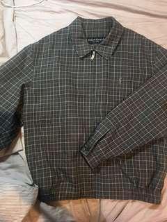 🚚 ysl古著外套 格紋外套