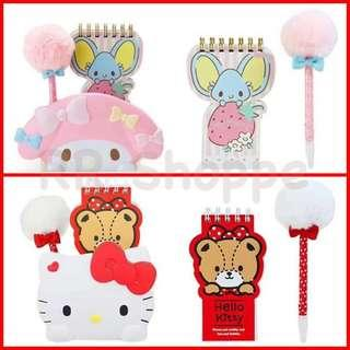 Sanrio Pen and Notepad Holder