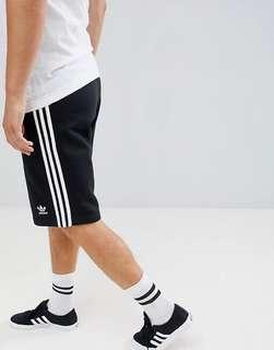Adidas 3-Stripes Shorts Black