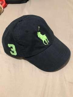 Ralph Lauren off black big logo cap