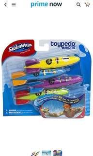 Swimways Toypedo Bandits Underwater Glider
