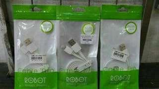 Kabel Charger iPhone Robot 1 meter