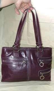 Hype Leather Shoulder Bag 上膊 手挽 真皮 手袋