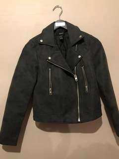 Forever 21 faux leather jacket - size M