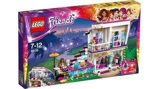 Lego 41135 Friends Livi's Pop Star House 全新靚盒