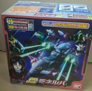 絕版 SD Full Color Gundam 高達扭蛋 戰艦