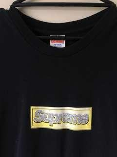 Authentic Supreme Bling Box Logo