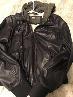 Leather jacket size M