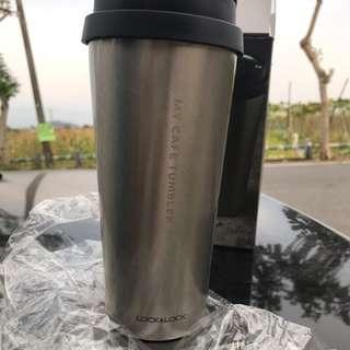 🚚 樂扣樂扣 我的溫感手提咖啡杯/銀絲天使540ml