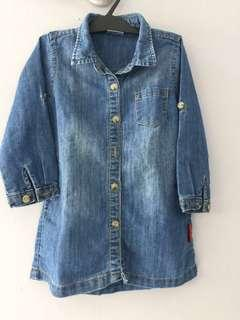 Baby Tunik/dress jeans