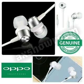 Authentic OPPO MH130 Stereo Earphone - With Bass Chamber