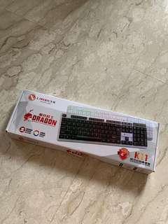Dragon wired keyboard BNIB