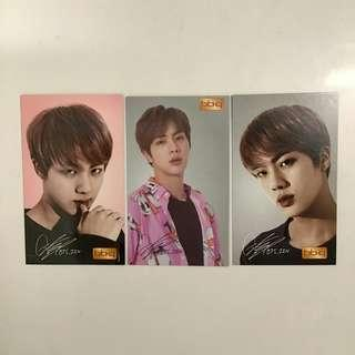 bts jin official photocard BBQ hyyh wings love yourself + free gift