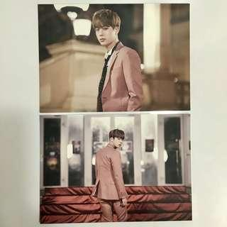 bts jin official hyyh on stage epilogue full photocard set RARE + free gift
